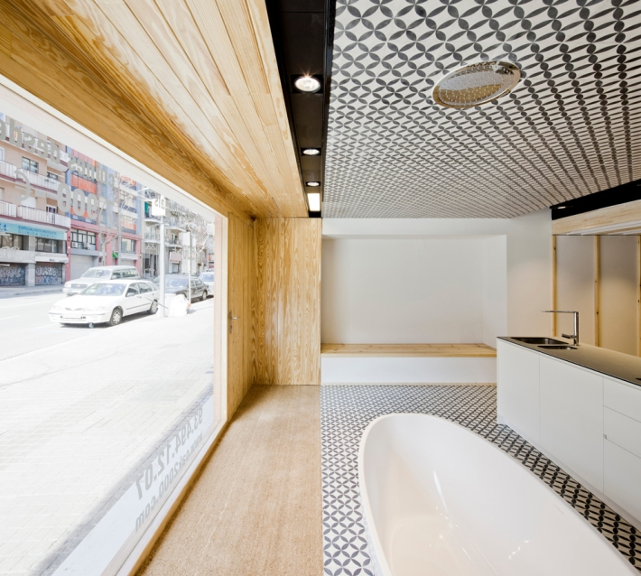 Imagen del showroom de OAK - imagen de AEB
